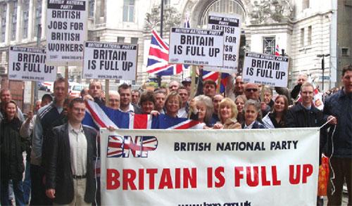 Miembros del BNP (Partido Nacional Británico)